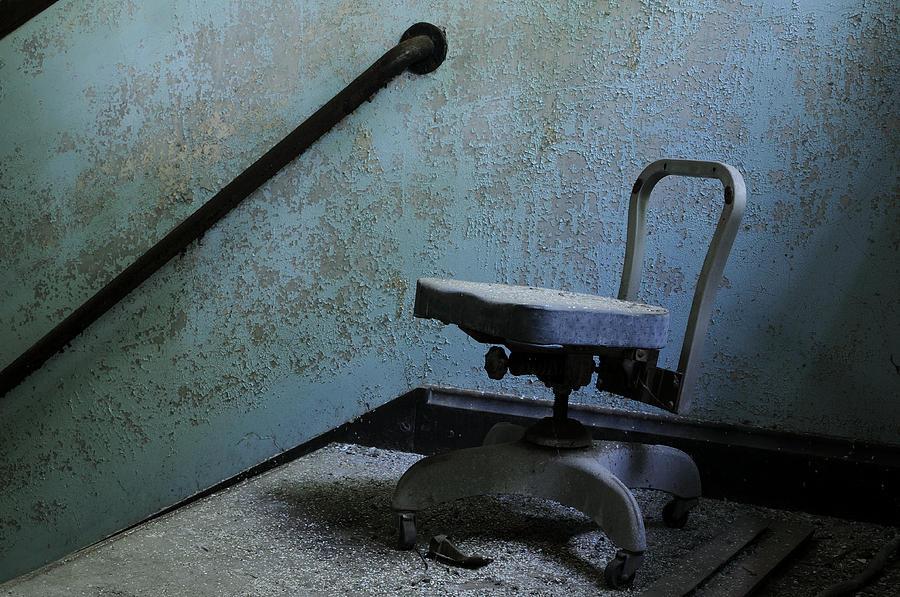 Abandoned Photograph - Catatonic by Luke Moore
