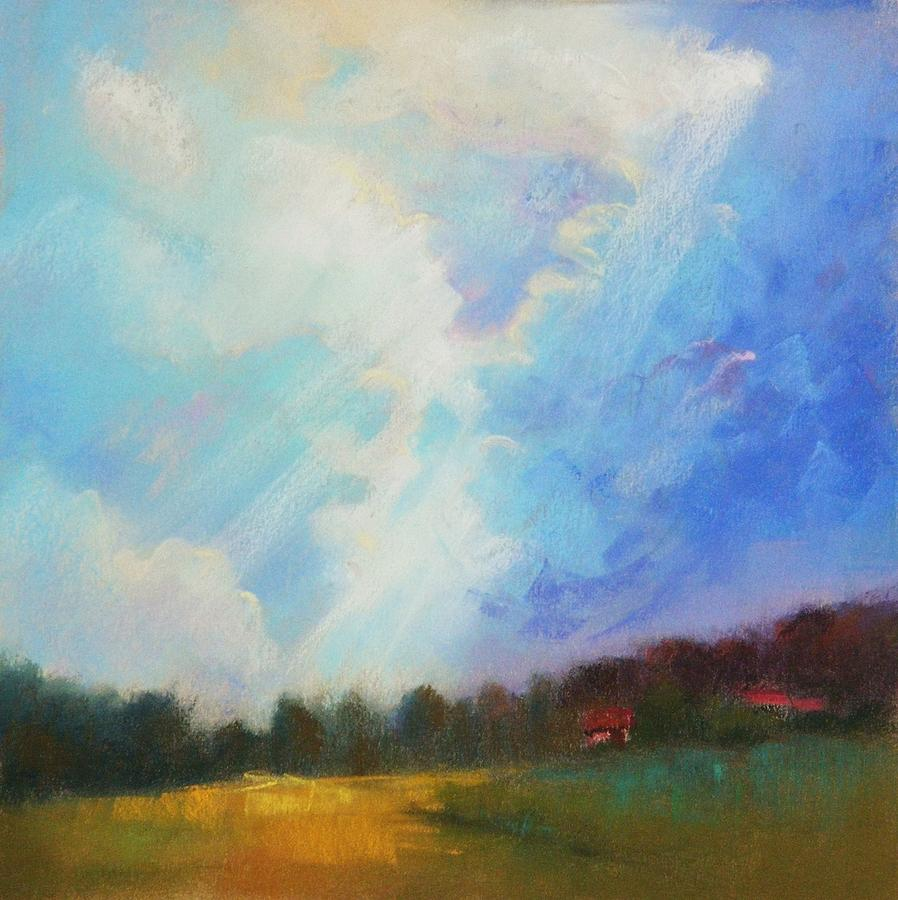 Landscape Painting - Catch The Light by Celine  K Yong