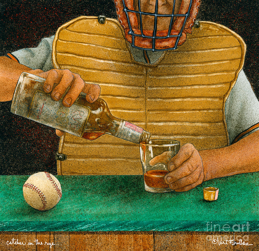 Will Bullis Painting - Catcher In The Rye...  by Will Bullas