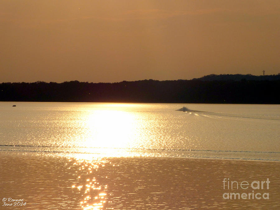 Lake Photograph - Catching The Waves At Delta by Rennae Christman