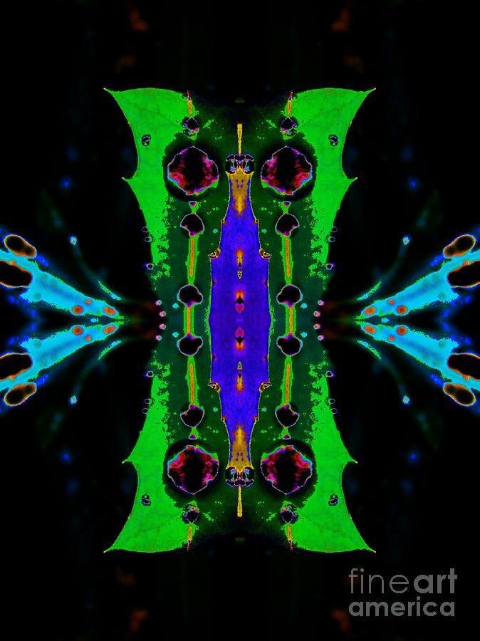 Caterpillar Digital Art - Caterpillar by Lorles Lifestyles