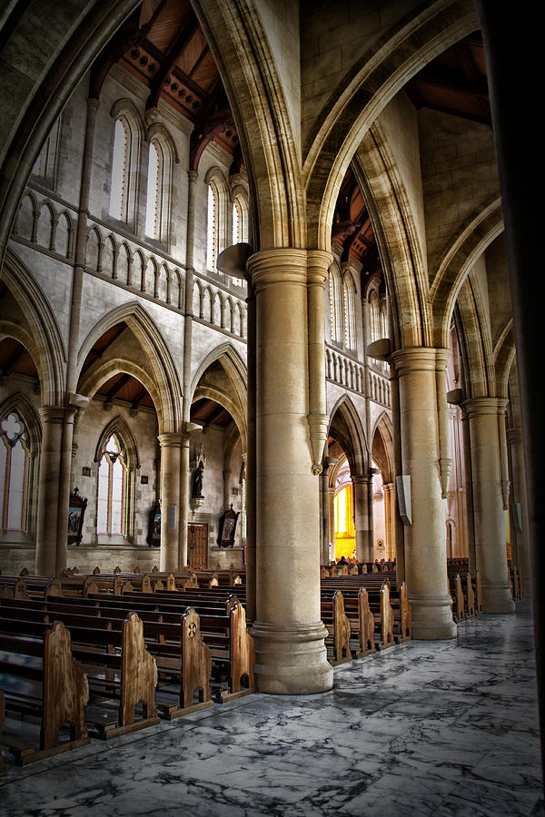 Interior Photograph - Cathederal Interior by John Monteath