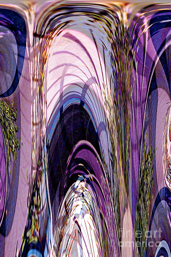 Cathedral Digital Art - Cathedral 1 by Ursula Freer