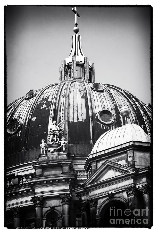Berlin Cathedral Photograph - Cathedral Angels by John Rizzuto