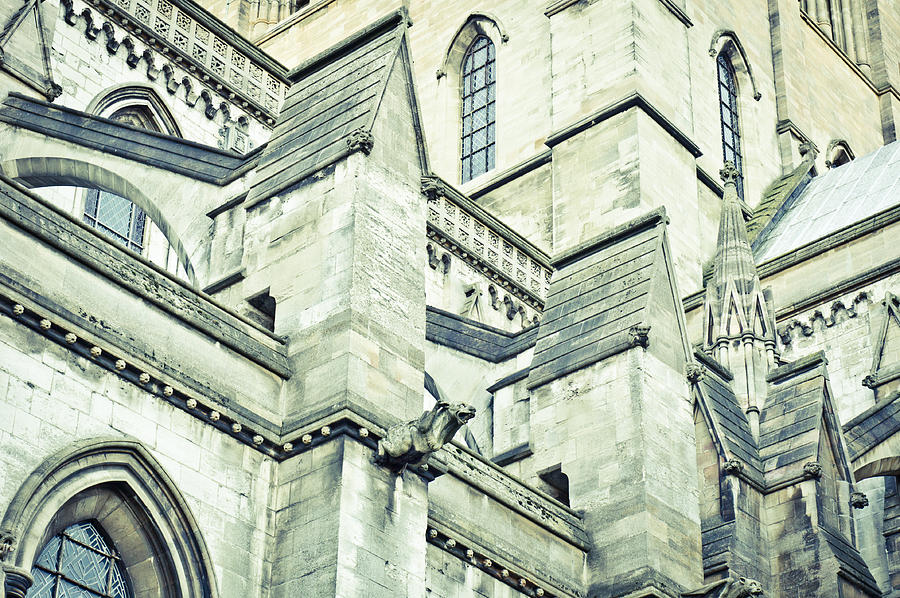 Ancient Photograph - Cathedral Architecture by Tom Gowanlock