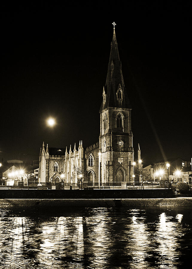 Cathedral Photograph - Cathedral At Nine Fifteen by Tony Reddington