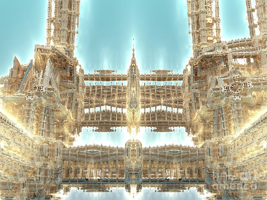 Digital Digital Art - Cathedral by Bernard MICHEL