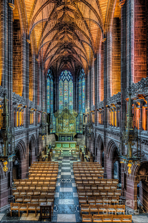 British Photograph - Cathedral Chapel by Adrian Evans