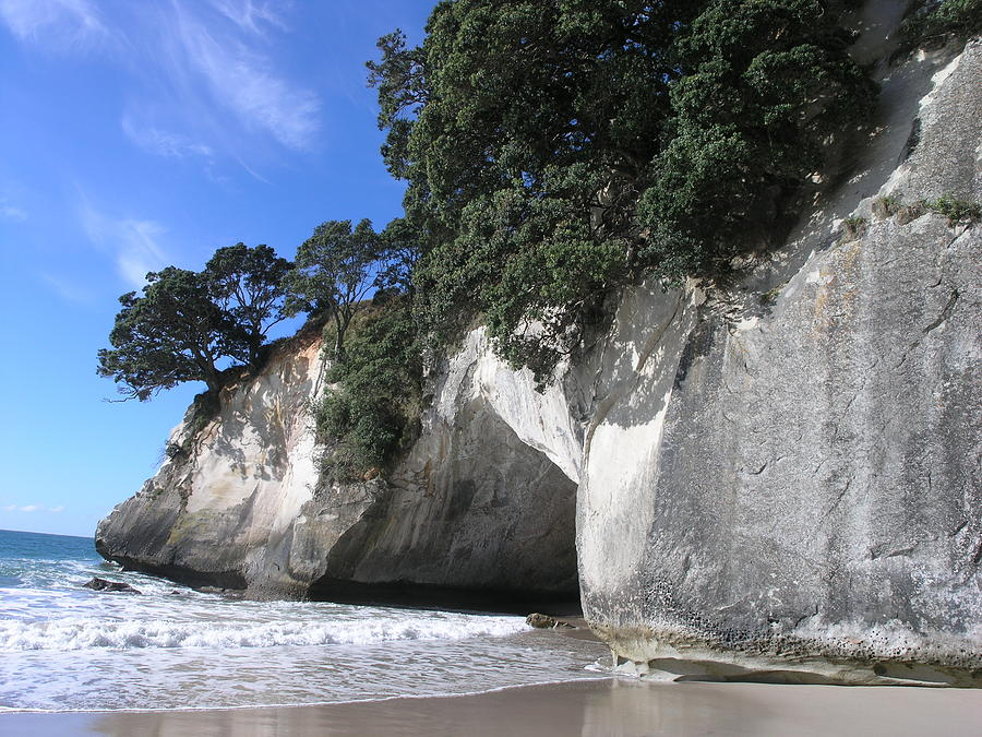 Cathedral Cove Photograph by Olaf Christian