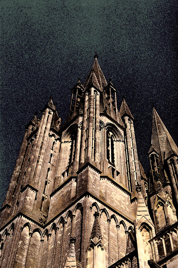 Cathedral Photograph - Cathedral In The Sky by Mary Bedy