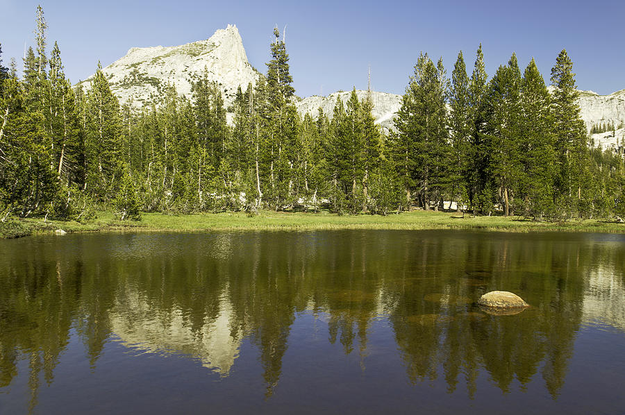 Cathedral Lakes-yosemite Seriers 19 Photograph by David Allen Pierson