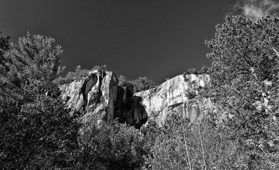 Landscape Photograph - Cathedral Ledge by Nancy De Flon