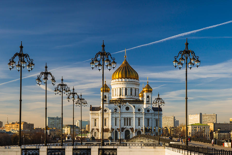 Architecture Photograph - Cathedral Of Christ The Savior 3 - Featured 3 by Alexander Senin