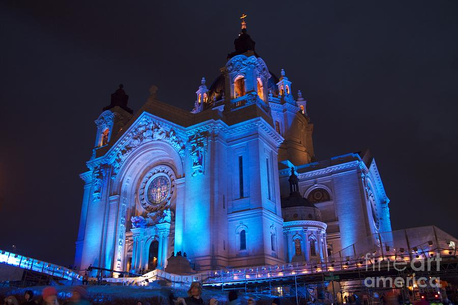 Cathedral Photograph - Cathedral Of Saint Paul - Crashed Ice by Kevin Jack