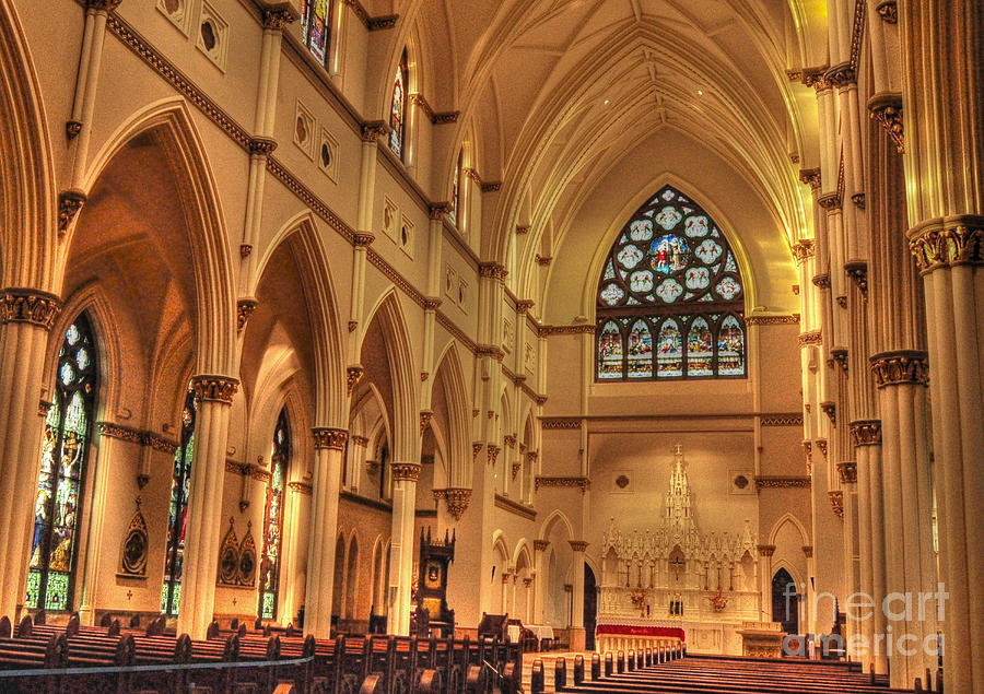 Cathedral Of St. John The Baptist by Kathy Baccari