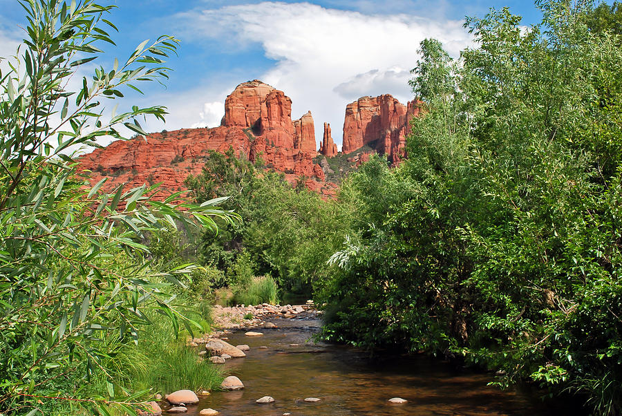 Mountains Photograph - Cathedral Point - Sedona Arizona by Gregory Ballos
