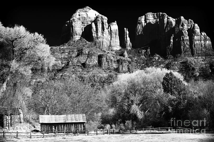 Cathedral Rock Photograph - Cathedral Rock by John Rizzuto