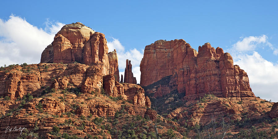 Arizona Photograph - Cathedral Rock by Phill Doherty