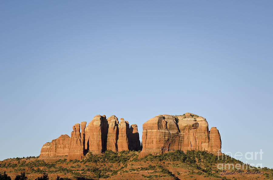 Cathedral Photograph - Cathedral Rock Vi by Dave Gordon
