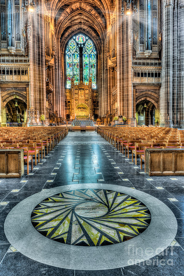 Aisle Photograph - Cathedral Way by Adrian Evans