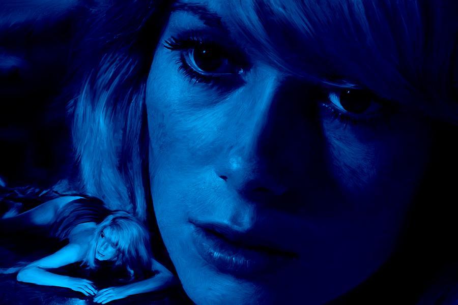 Catherine Deneuve Digital Art - Catherine Deneuve in the film Repulsion by Gabriel T Toro