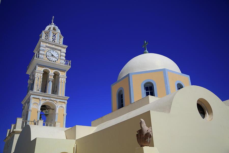 Catholic Church In Fira Photograph by Iñigo Escalante