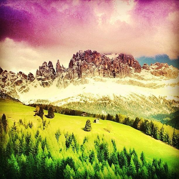 Landscape Photograph - Catinaccio - Dolomiti. Alto Adige - by Luisa Azzolini