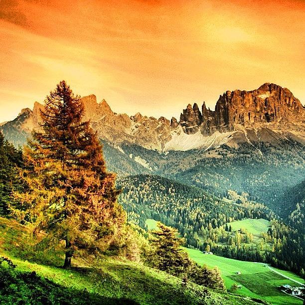 Dolomiti Photograph - Catinaccio-dolomiti. alto Adige - by Luisa Azzolini