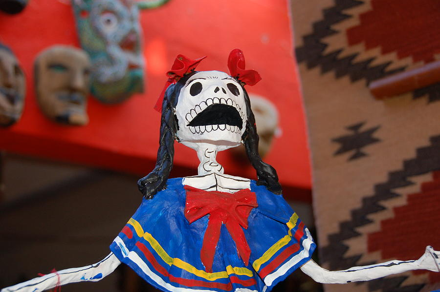San Miguel Photograph - Catrina Doll by Susie Blauser