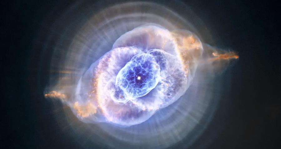 3scape Photograph - Cats Eye Nebula by Adam Romanowicz