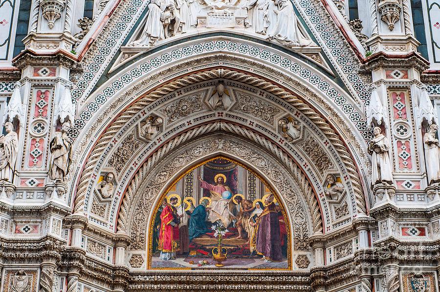 Cathedral Photograph - Cattedrale Di Santa Maria Del Fiore by Luis Alvarenga