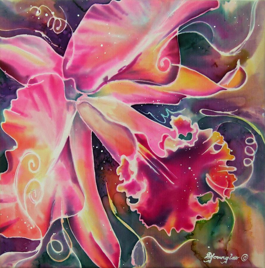 Cattleya Iii Painting By Deborah Younglao
