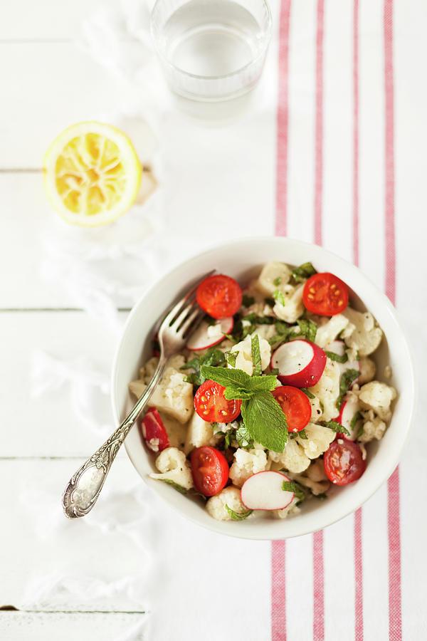 Cauliflower Salad Photograph by Alena Kogotkova