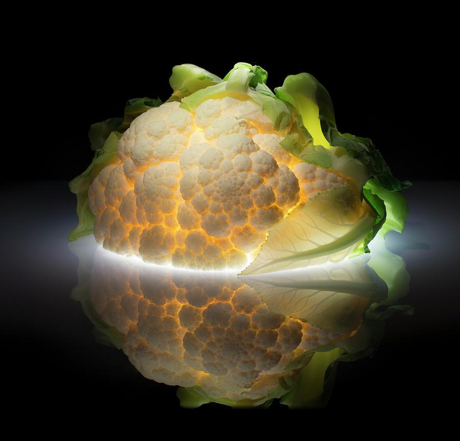 Cauliflower Photograph by Wieteke De Kogel