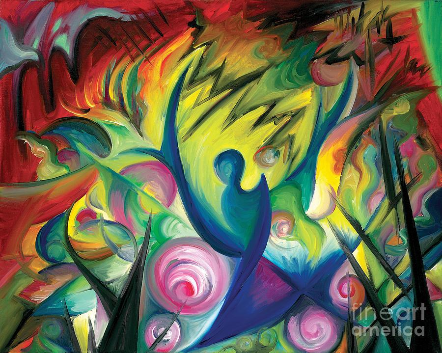 Painting Painting - Causing A Scene by Tiffany Davis-Rustam