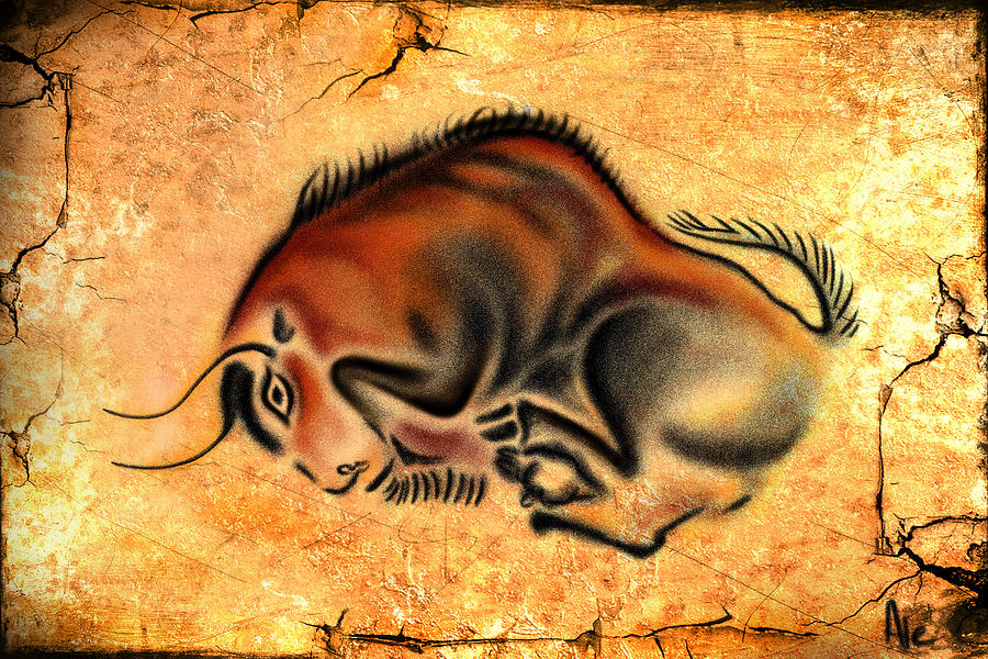 Cave Painting Drawing