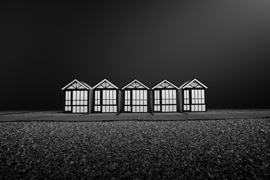Architecture Photograph - Cayeux Sur Mer- France by Arnaud Maupetit