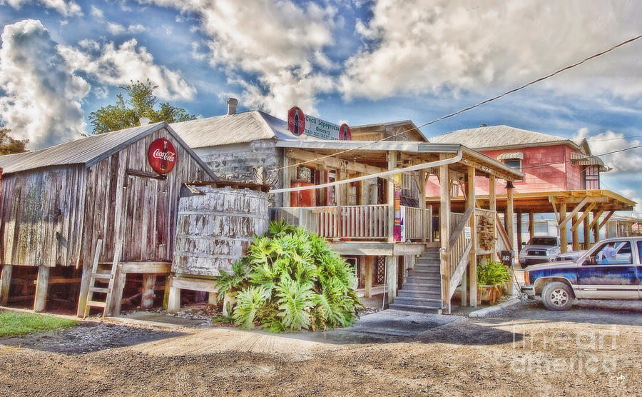 Grocery Store Photograph - Cecils Grocery by Scott Pellegrin