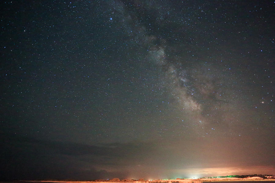 Cedar Island Milky Way Photograph