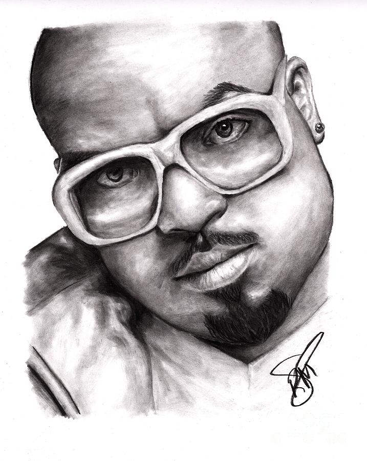 Cee Lo Green Drawing - Cee Lo Green by Rosalinda Markle