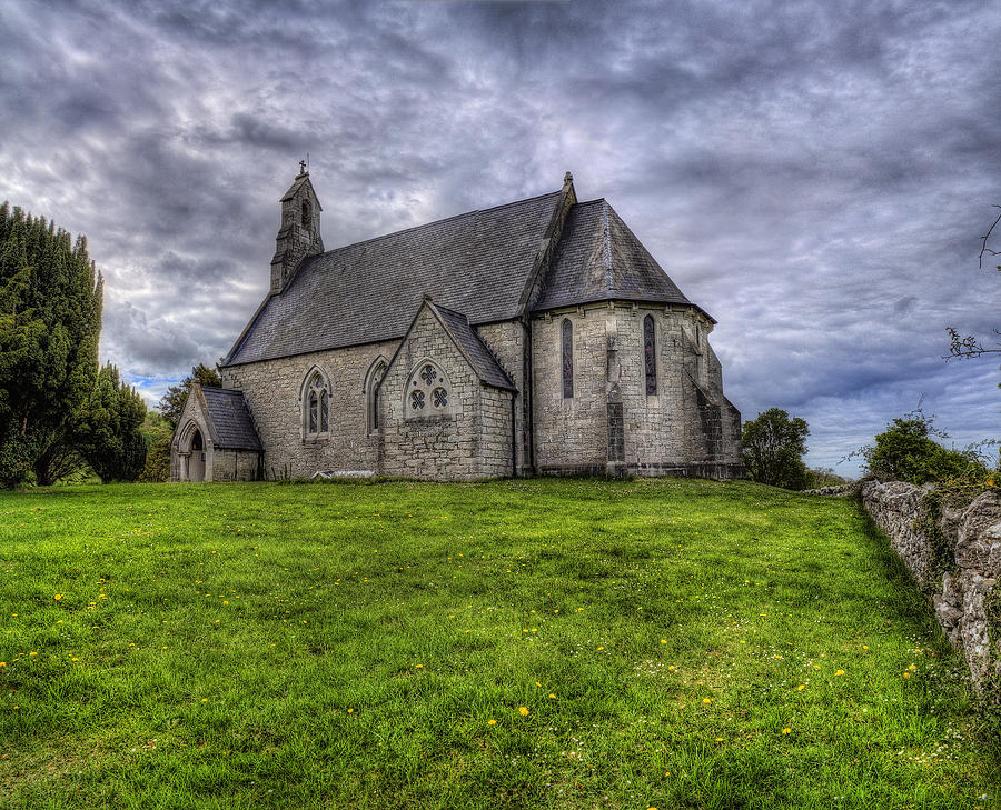 Church Photograph - Cefn Meiriadog Parish Church by Ian Mitchell