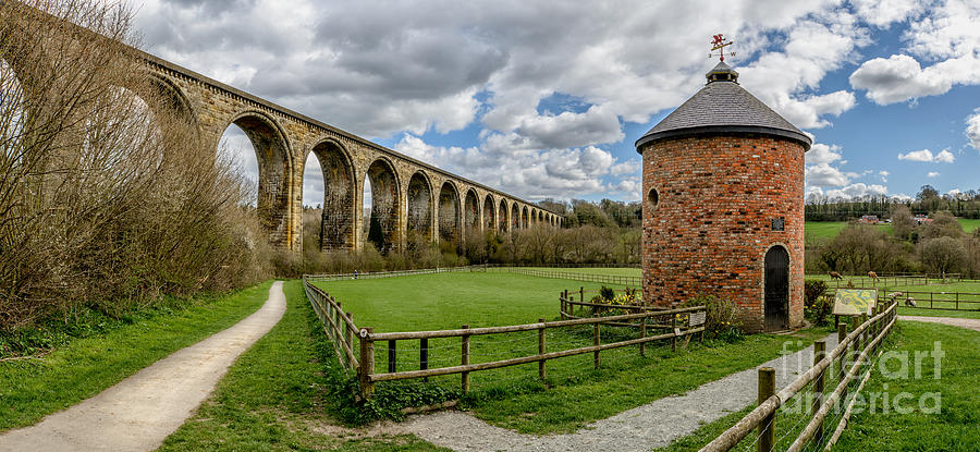 Arch Photograph - Cefn Viaduct by Adrian Evans