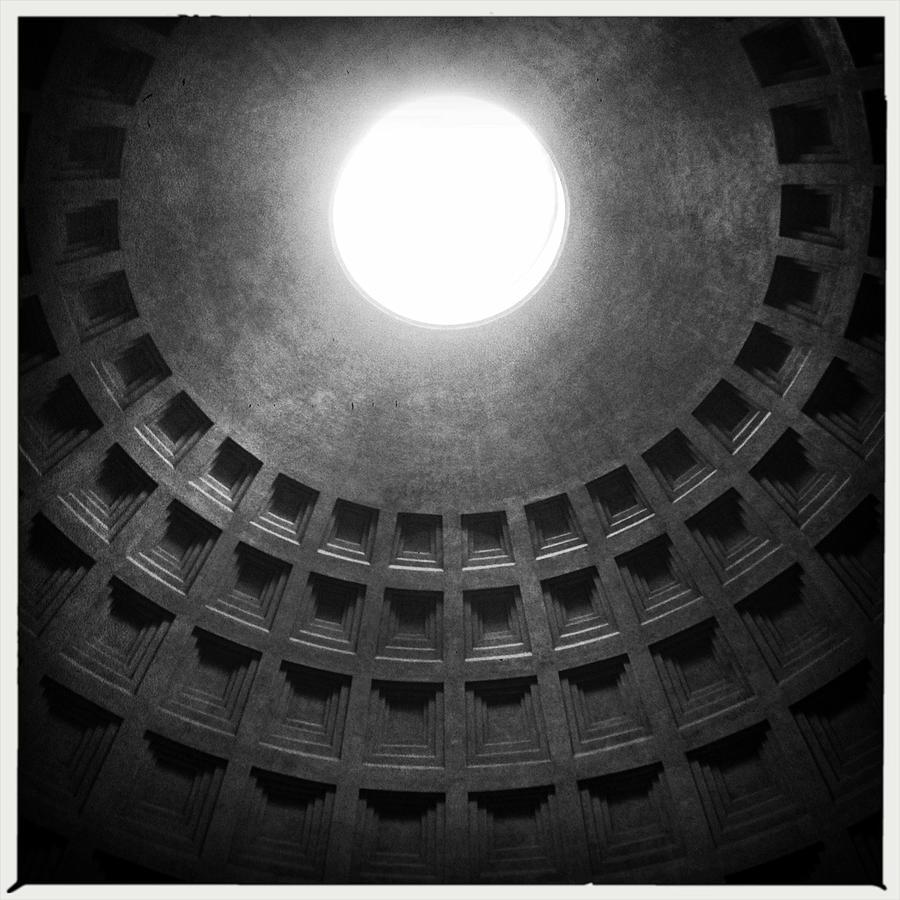 Ceiling Of Pantheon Photograph by Patrick Ryan / Eyeem