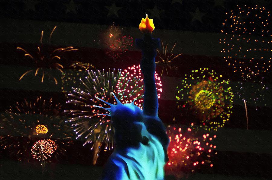 Celebrate Photograph - Celebrate America by Bill Cannon