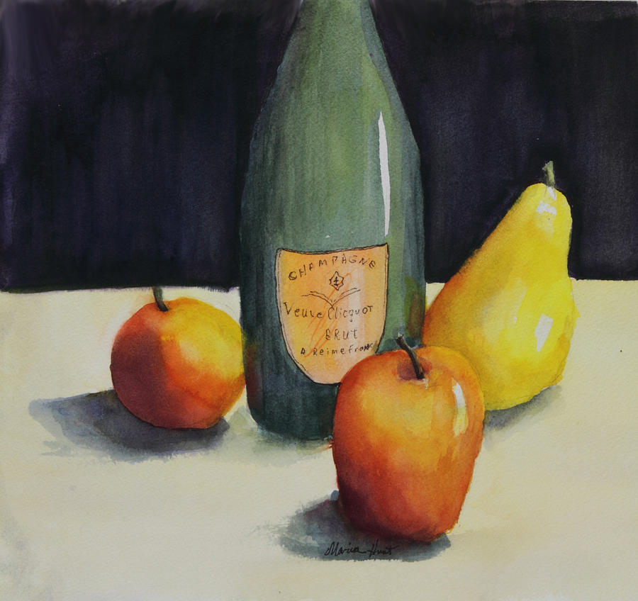Still Life Painting - Celebrate by Maria Hunt