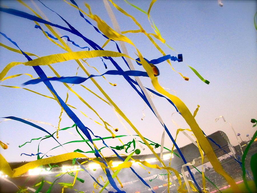 Streamers Photograph - Celebration by JBDSGND OsoPorto