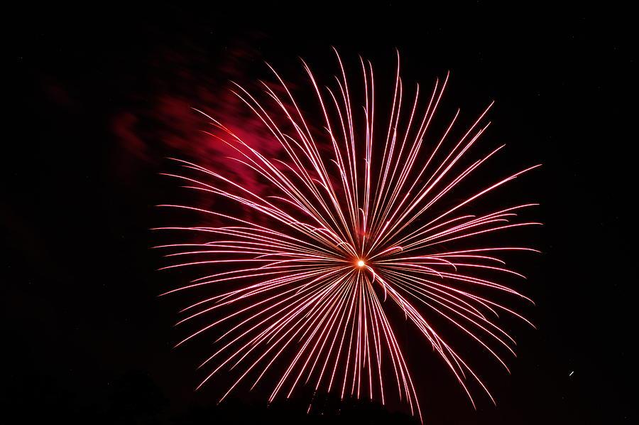 Fireworks Photograph - Celebration Xvii by Pablo Rosales