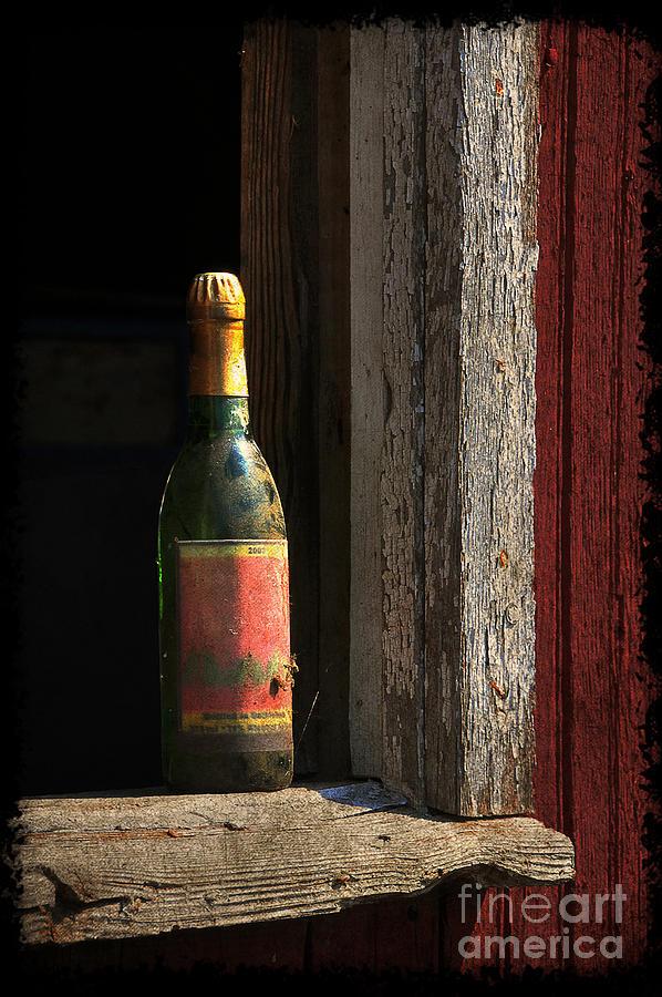 Bottle Photograph - Celebrations Past by Lois Bryan