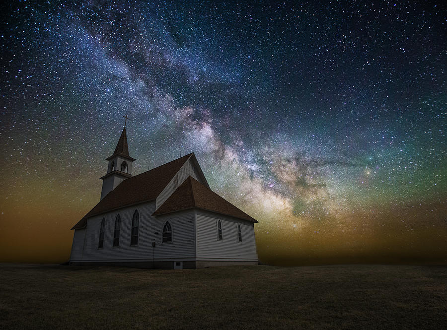 Stars Photograph - Celestial by Aaron J Groen