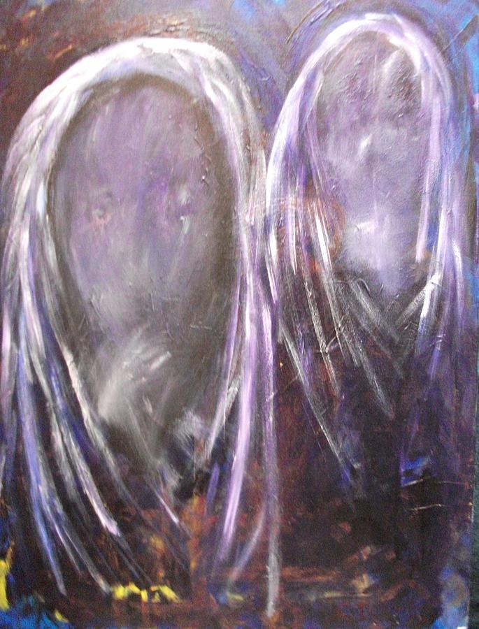 Ghosts Painting - Celestial Blessings by Randall Ciotti